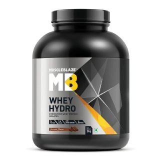MuscleBlaze Whey Hydro Hydrolyzed Whey Protein,  4.4 lb  Chocolate