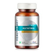 HealthKart Multivitamin with Multimineral, Amino Acids, Taurine & Ginseng Extract,  90 tablet(s)  Unflavoured