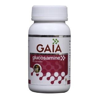 GAIA Glucosamine Capsules,  60 capsules