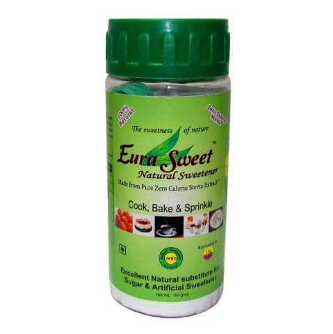 Euradite Nutrition EuraSweet Pure Stevia Extract,  0.1 kg