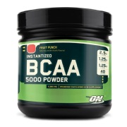 ON (Optimum Nutrition) Instantized BCAA 5000,  0.8 lb  Fruit Punch