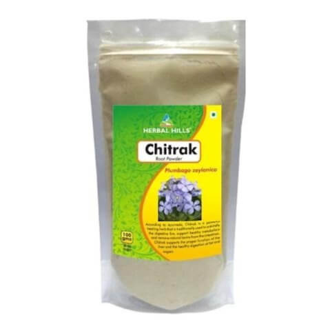 Herbal Hills Chitrak Root Powder,  0.1 kg