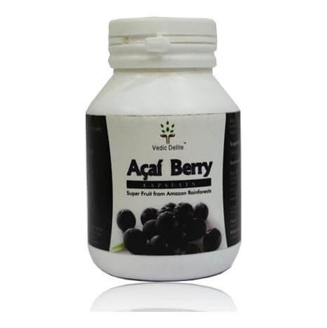 Vedic Delite Acai Berry,  60 capsules  Unflavoured