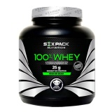 Six Pack Nutrition 100% Whey,  4.4 lb  Vanilla