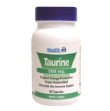 Healthvit Taurine (500mg),  60 capsules