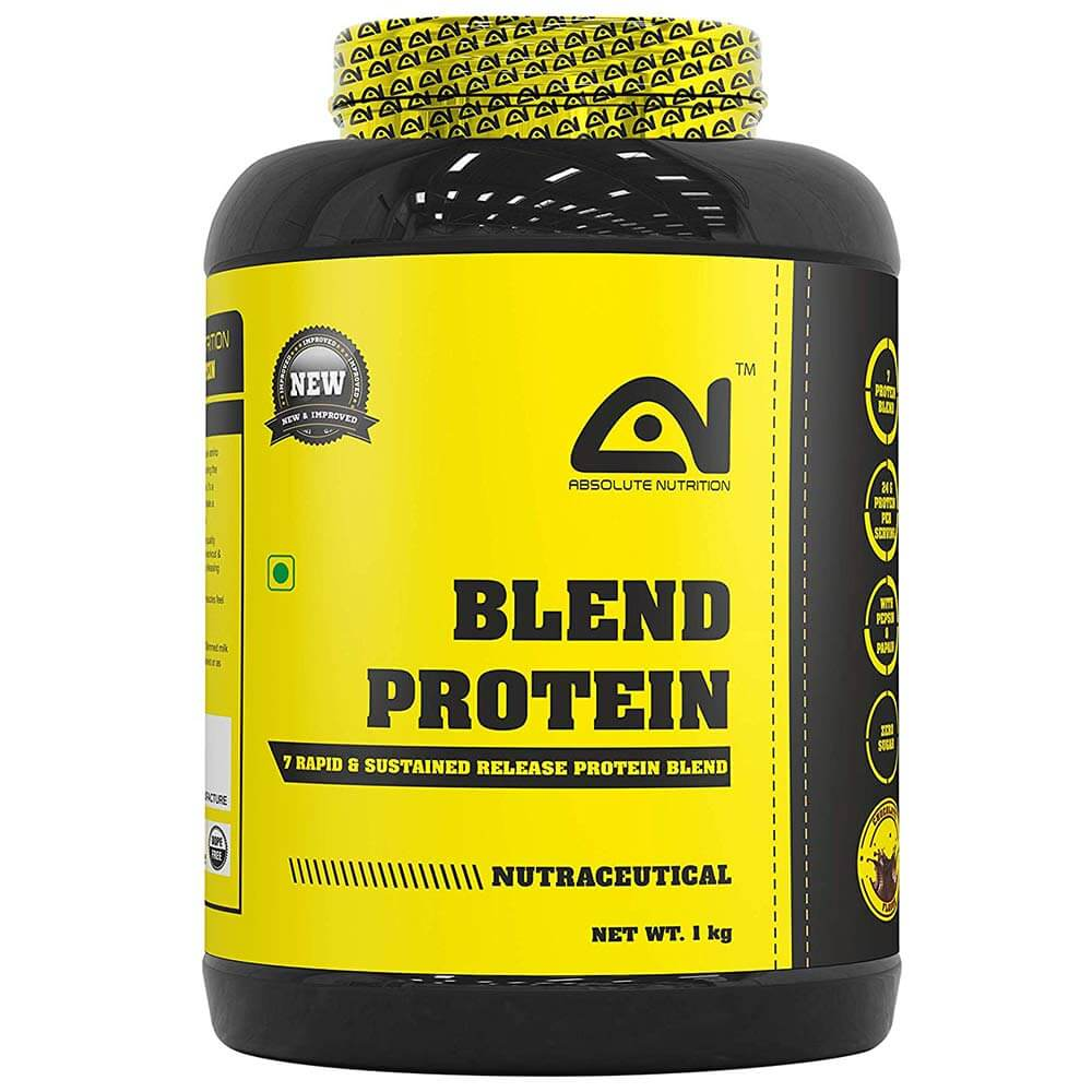 Absolute Nutrition Blend Protein,  2.2 lb  Chocolate