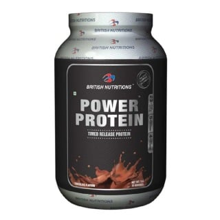British Nutritions Power Protein,  2.2 lb  Chocolate