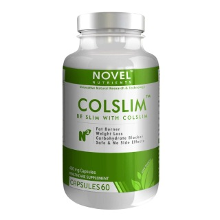 Novel Nutrients Colslim (400 mg),  60 capsules  Unflavoured