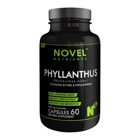Novel Nutrients Phyllanthus (500mg),  60 capsules