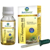 BestSource Nutrition Saw Palmetto Oil,  50 G  Natural Herbal