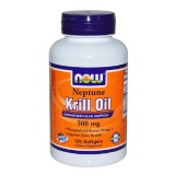 Now Neptune Krill Oil (500mg),  120 Softgels