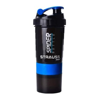 2 - Strauss Spider Shaker Bottle,  Sky Blue  500 ml