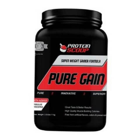 Protein Scoop Pure Gain,  2.2 lb  Vanilla
