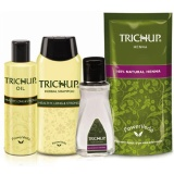 Trichup Healthy Hair Care Kit,  Oil,Powder,Lotion & Shampoo  500 Ml