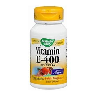 Nature's Way Vitamin E (400IU),  100 softgels