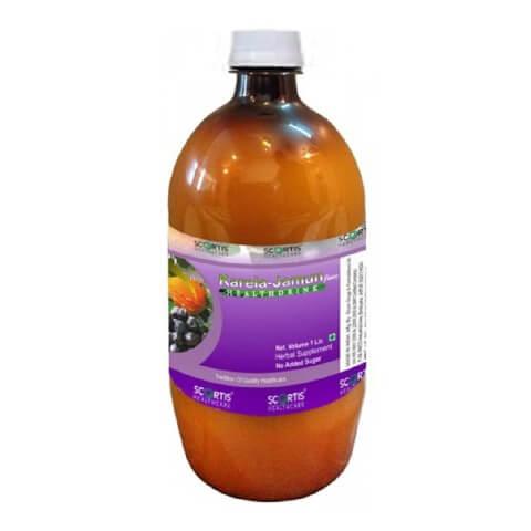 Scortis Karela Jamun Juice,  Natural  1 L