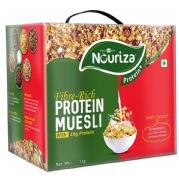 Nouriza Protein Muesli,  1 kg  Unflavoured