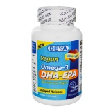 Deva Vegan Omega-3 DHA-EPA,  90 Veggie Capsule(s)