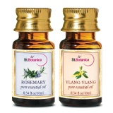 St.Botanica Pure Essential Oil,  20 Ml  Rosemary + Ylang-Ylang