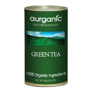 Aurganic Green Tea,  100 g  Natural