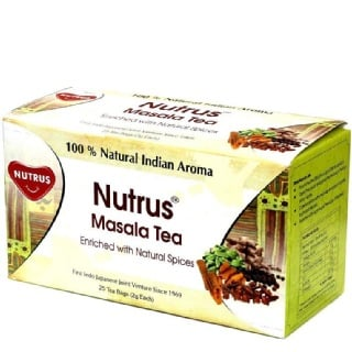 Nutrus Masala Tea (Pack of 3),  Natural  25 Piece(s)/Pack