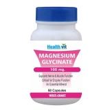 Healthvit Magnesium Glycinate 100mg,  60 Capsules