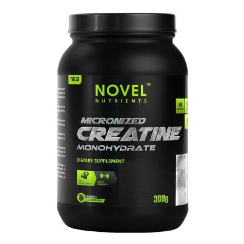 Novel Nutrients Micronized Creatine Monohydrate,  Strawberry  0.66 lb