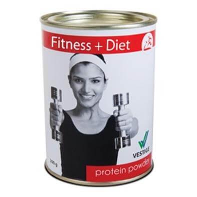Vestige Fitness+Diet Protein Powder,  200 g  Unflavoured