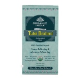 Organic India Tulsi Brahmi Tea,  Unflavoured  25 Piece(s)/Pack