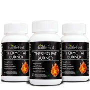 Health first Thermo Fat Burner (Pack of 3),  60 veggie capsule(s)  Unflavoured