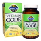 Garden Of Life Vitamin Code Raw B-Complex,  Unflavoured  120 Veggie Capsule(s)