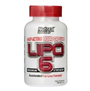 Nutrex Lipo 6,  120 capsules  Unflavoured
