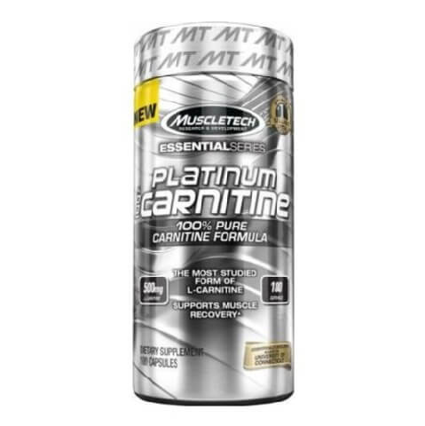 MuscleTech Platinum Carnitine,  180 capsules  Unflavoured