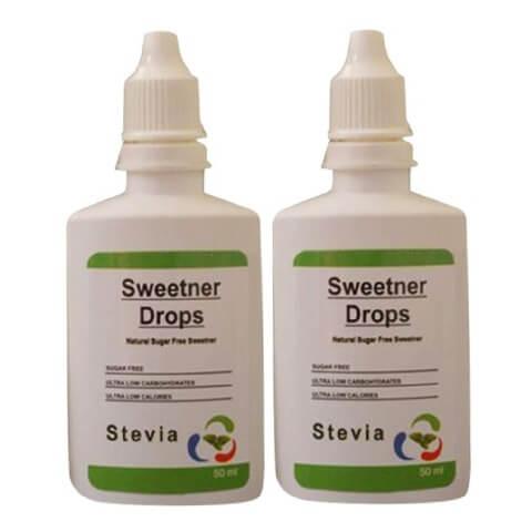 Healthfarm Stevia Sweetner Drops (Pack of 2),  50 ml