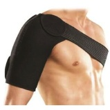 B Fit USA Magnetic Shoulder Support (AB3071),  Black  Free Size