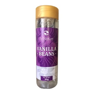 By Nature Vanilla Beans,  Unflavoured  20 g