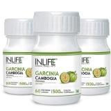 INLIFE Garcinia Cambogia (Pack Of 3),  60 Veggie Capsule(s)