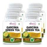 St.Botanica Garcinia Green Tea Extract (500 Mg) Pack Of 6,  90 Veggie Capsule(s)