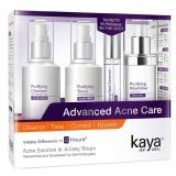 Kaya Advanced Acne Care Kit,  4 Piece(s)/Pack  Acne Free