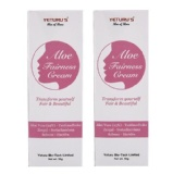 Yeturu's Aloe Fairness Cream (Pack Of 2),  0.11 Lb  Fair & Beauty