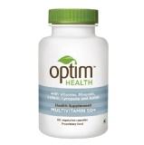 OptimHealth Multivitamin 50+ Health Supplement,  Unflavoured  50 Veggie Capsule(s)