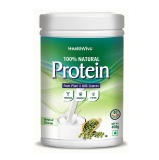 HealthViva 100% Natural Protein,  2.2 Lb  Unflavoured