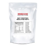 BigBang Nutrition Soy Protein Isolated 90%,  2 Lb  Unflavoured