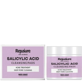 Rejusure Salicylic Acid Cleansing Pads,  50 Piece(s)/Pack  Acne Treatment Deep Pore Cleaning