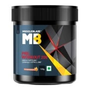 MuscleBlaze PRE Workout 200,  0.22 lb  Fruit Splash