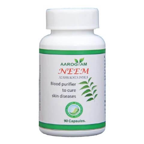 Aarogyam Neem Capsules,  90 capsules