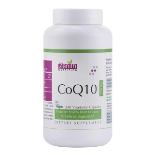 Zenith Nutrition CoQ10 (100 mg),  240 veggie capsule(s)