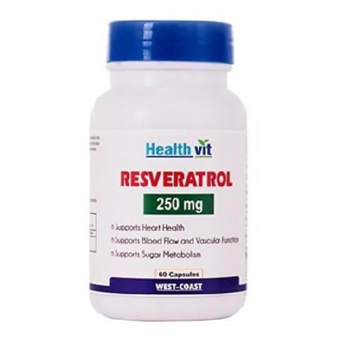 Healthvit Resveratol (250 mg),  60 capsules