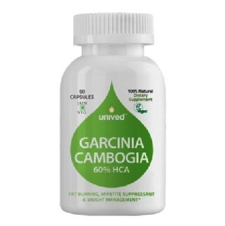 Unived Garcinia Cambogia 60% HCA,  60 capsules