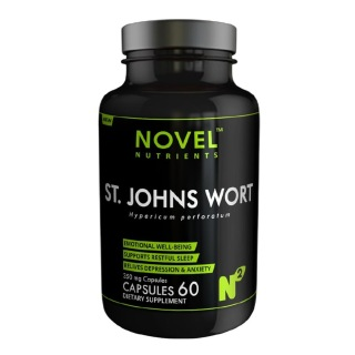 Novel Nutrients St. John Worts (350 mg),  60 capsules